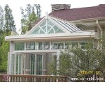 幕墙结构阳光房设计制作