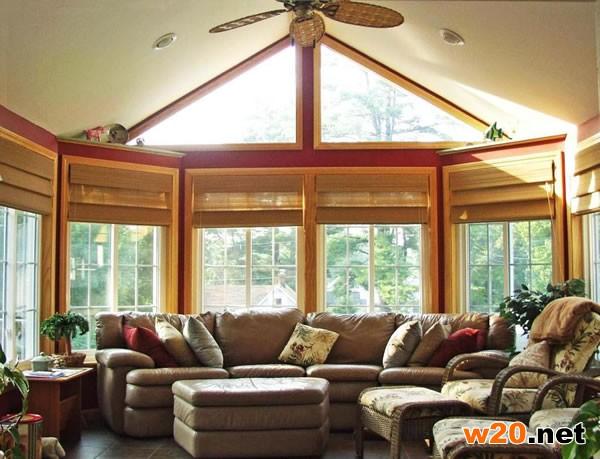 铝木复合结构阳光房