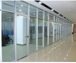 上海亮楷防火玻璃隔断墙设计