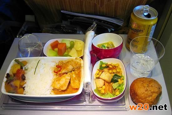泰国航空餐饮