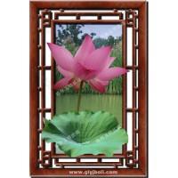 西安彩釉玻璃格林玉锦装饰玻璃挂画