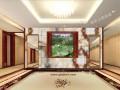 西安酒店背景墙效果图 (3)