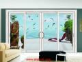 彩釉艺术玻璃移门效果图 (2)