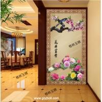 渭南彩釉艺术玻璃隔断