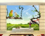 西安电视背景墙 ()