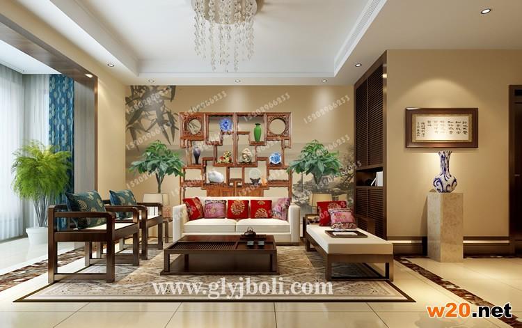 西安装饰沙发背景墙
