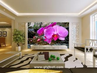 西安电视背景墙生产、安装