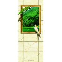 西安彩釉玻璃玄关生产制作
