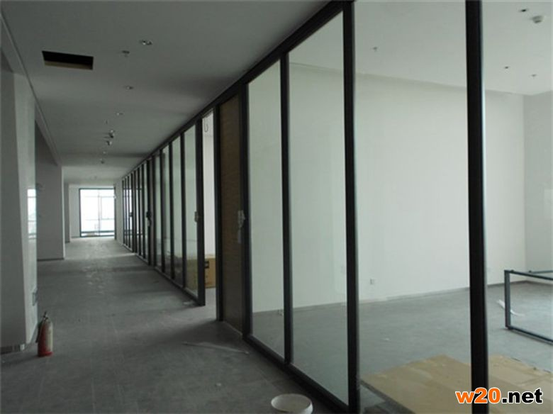 上海办公双玻璃隔断