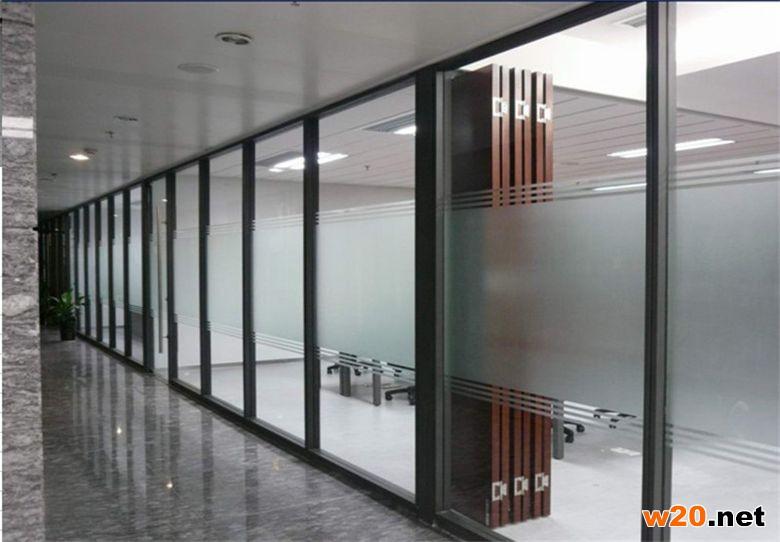 上海办公双层玻璃隔断