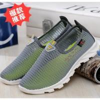 夏季老北京布鞋女士低帮跑步运动网眼鞋