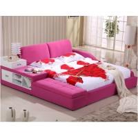 厂家供应批发零售时尚布艺榻榻米软床婚床