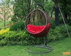 花园庭院藤编吊篮-DGD60008