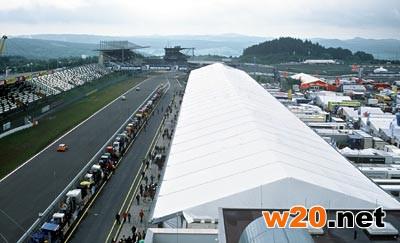 F1赛车场篷房搭建