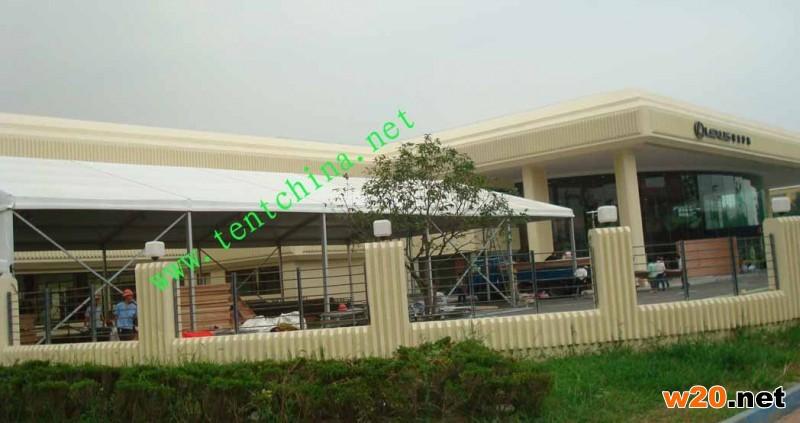 上海展览帐篷搭建