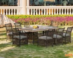 大理石休闲餐桌椅