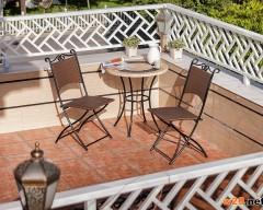 阳台休闲咖啡桌椅