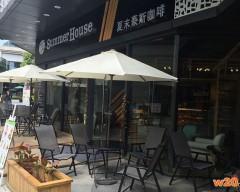 泉州咖啡店休闲特斯林桌椅