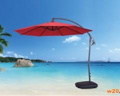 红色户外休闲遮阳伞