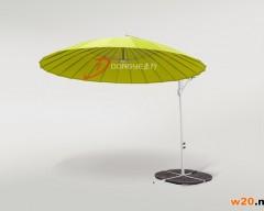 柠檬绿色户外遮阳伞
