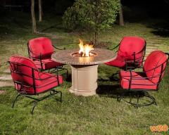 户外休闲火炉桌