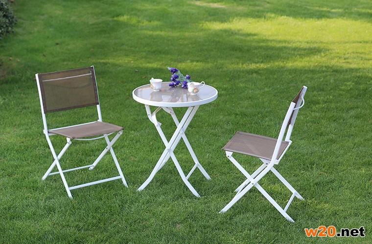 特斯林折叠阳台桌椅
