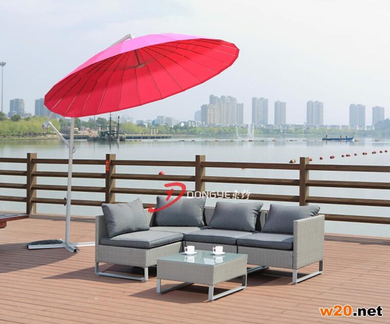 上海藤编沙发