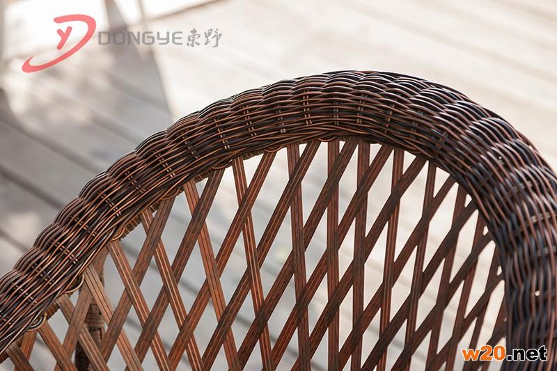 藤编茶桌椅