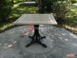 户外休闲磁砖拼花餐桌 ()