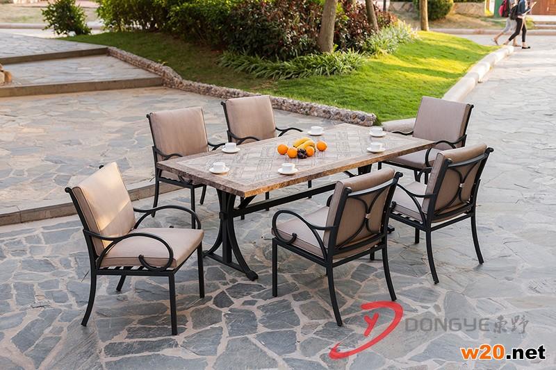别墅家具大理石餐桌