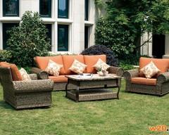 花园家具编藤沙发