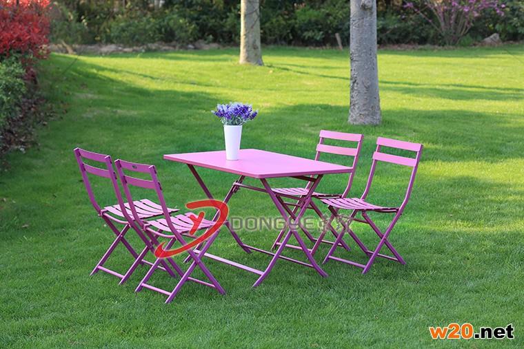 休闲铁艺桌椅