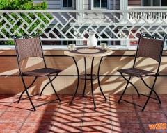 新材料NAG阳台咖啡桌椅