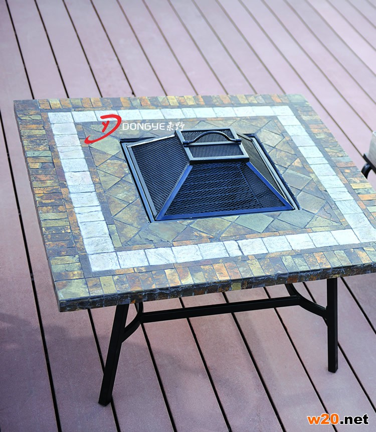 取暖火炉桌子