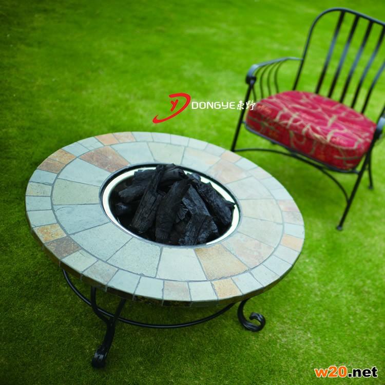 烧炭取暖火炉桌子