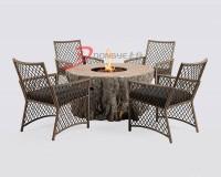 树桩燃气火炉桌 ()
