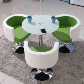 SANRTARIAN/帝保洽谈桌商务接待桌椅组合咖啡桌