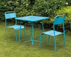 户外休闲铁艺桌椅