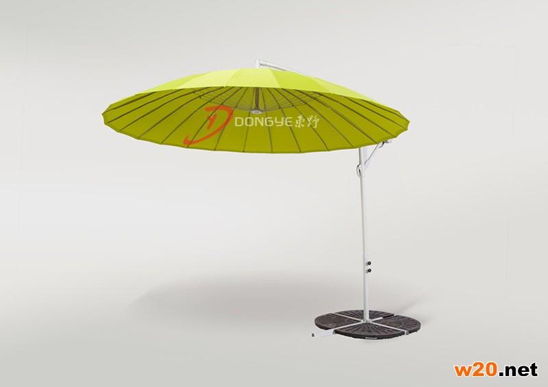 2016新款绚丽遮阳伞 柠檬绿色和玫红