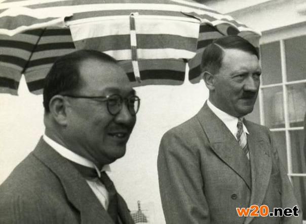 希特勒接见孔祥熙