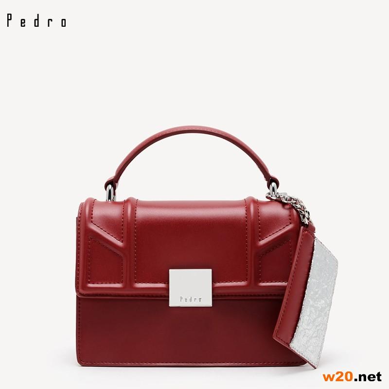 PEDRO【新品】单肩包可拆卸卡片夹女包手提包 PW2-76100079