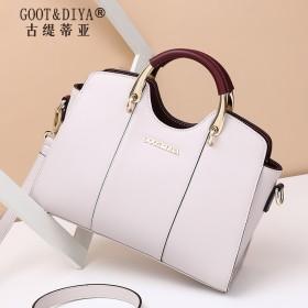 牛皮包包女单肩包斜挎包 GOOT&DIYA/古缇蒂亚