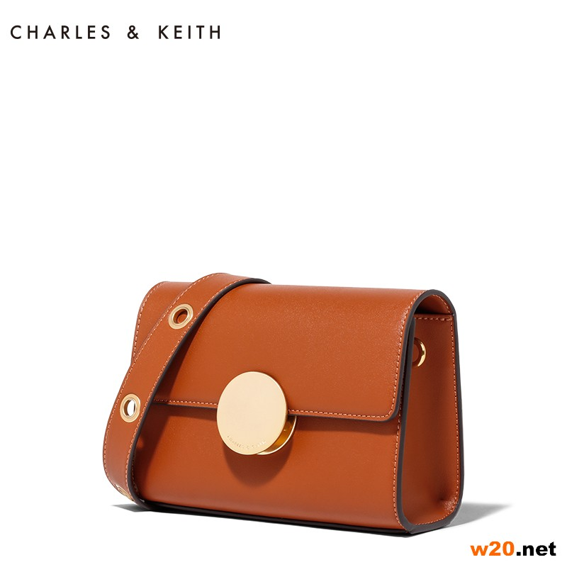 CHARLES&KEITH 单肩包 CK2-80680466 金属扣小方包斜挎女包