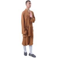 梵林僧衣夏季棉绸僧服