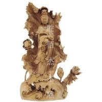 黄杨木木雕佛像