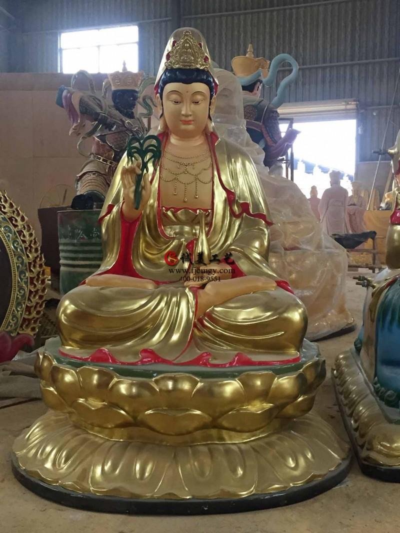 佛教寺庙观音菩萨佛像制作