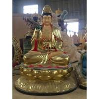 佛教寺庙观世音菩萨佛像制作