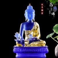 古法琉璃药师佛佛像