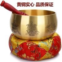 厚德居 4-12寸加厚铜磬法器