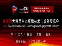 2020粤港澳大湾区水处理技术设备展览会